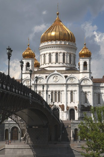Stock Photo: 1840-31681 Moscow, The Church Of Christ The Saviour