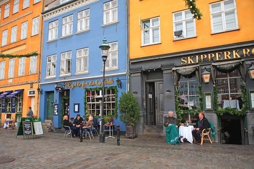 Stock Photo: 1840-31768 Nyhavn, Christmas Market, Copenhagen
