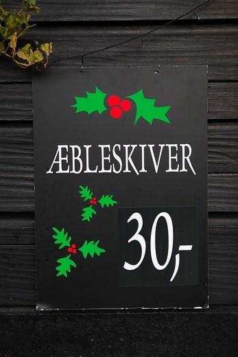 Nyhavn, Christmas, Copenhagen : Stock Photo