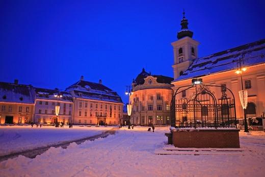 Stock Photo: 1840-31992 Sibiu, Piata Mare, Sibiu