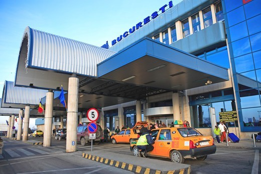 Otopeni Airport, Bucharest : Stock Photo
