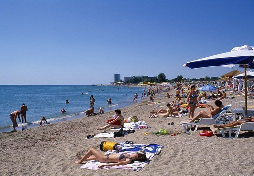 Black Sea Coast, Neptun Beach : Stock Photo