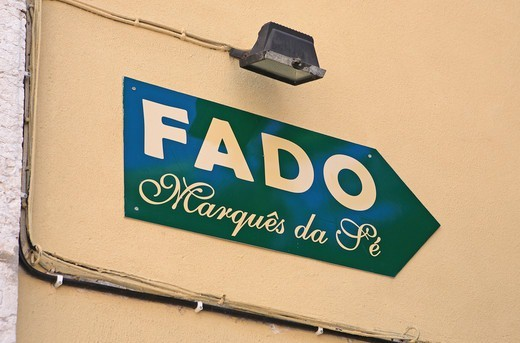 Portugal, Lisbon, Alfama, Fado Restaurant : Stock Photo