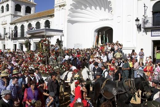 El Rocio Festival : Stock Photo