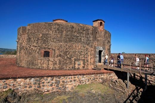 Stock Photo: 1840-33430 Puerto Plata, Fort Fortaleza De San Felipe