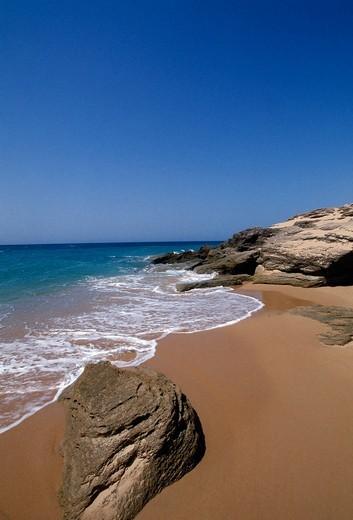 Seville Province, Italica, Cabo Trafalgar : Stock Photo