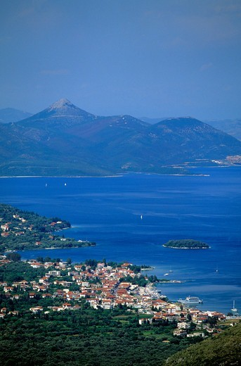 Stock Photo: 1840-35929 Lefkas, View of Nidri