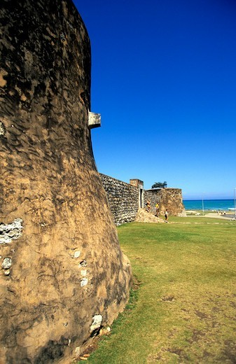 Puerto Plata, Fort Fortaleza de San Felipe : Stock Photo