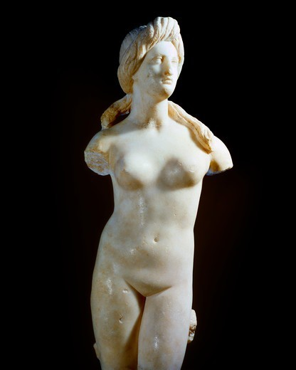 Marble Statue Of Aphrodite, Cyprus Museum : Stock Photo