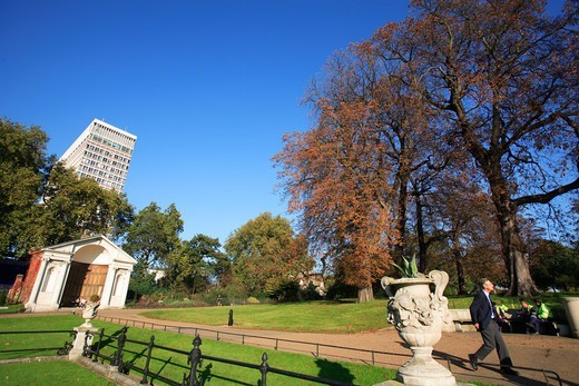 Kensington Gardens Pk.,  Italian Gardens : Stock Photo