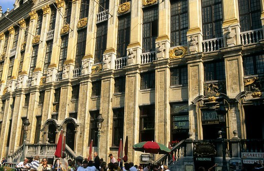 Stock Photo: 1840-38800 Belgium Brussels The Grand Place
