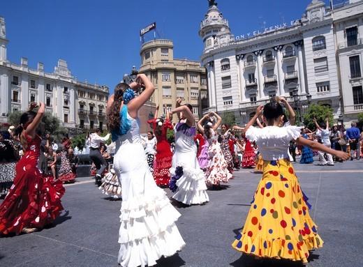 Cordoba, Plaza de las Tendillas : Stock Photo