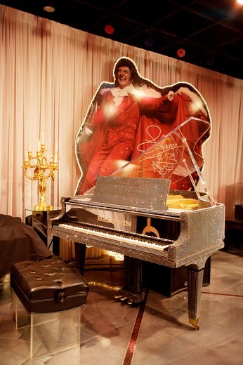 Stock Photo: 1840-40024 Liberace Museum Las Vegas