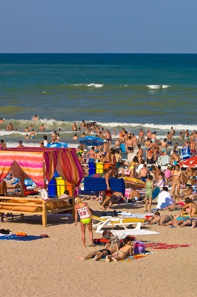 Neptun beach, Black Sea, Dobrogea,  Romania : Stock Photo
