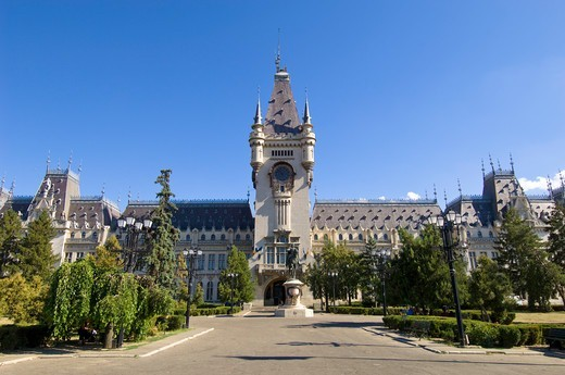 Palace of Culture, Iasi, Moldavia, Romania : Stock Photo