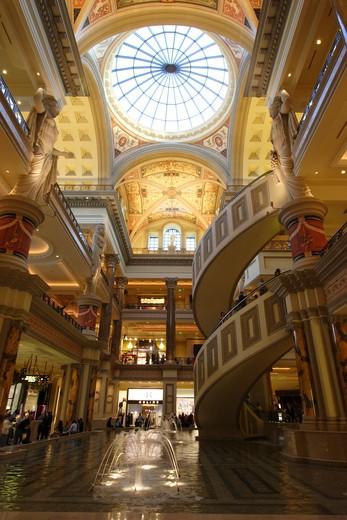 The Forum Shops At Caesars Palace. : Stock Photo