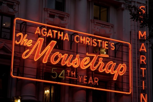 Stock Photo: 1840-5440 St Martin's Theatre, The Mousetrap