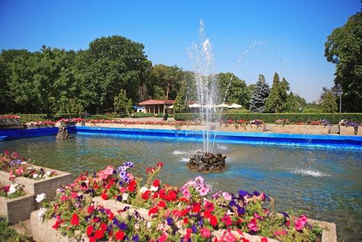 Bucharest, Parcul Herastrau : Stock Photo
