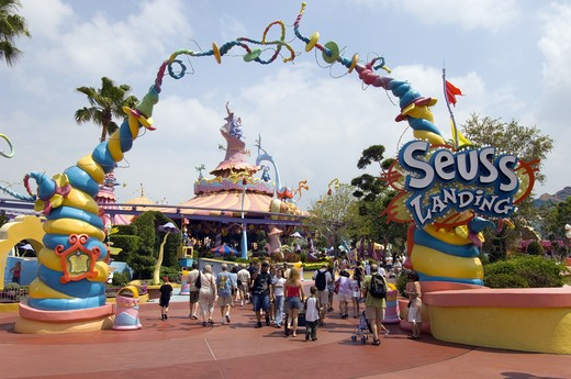 Stock Photo: 1840-5947 Seuss Landing, Universal Studios, Orlando