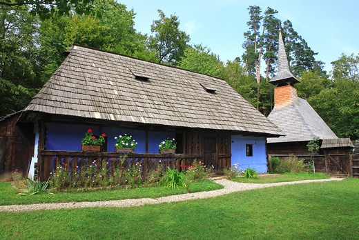 Stock Photo: 1840-6021 Romania, Transylvania, Sibiu, Astra Open-air Museum
