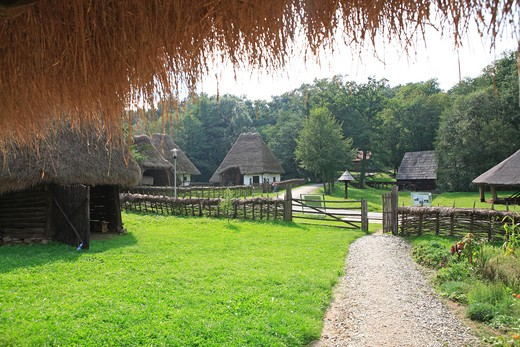 Stock Photo: 1840-6026 Romania, Transylvania, Sibiu, Astra Open-air Museum
