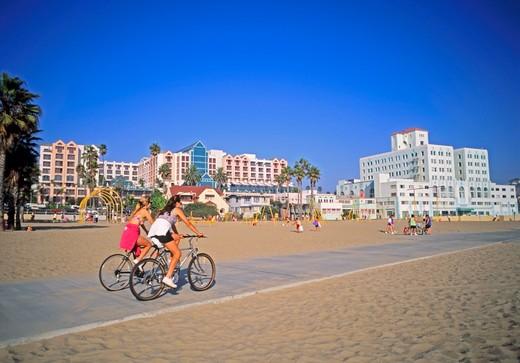 Stock Photo: 1840-6213 Venice Beach, Los Angeles