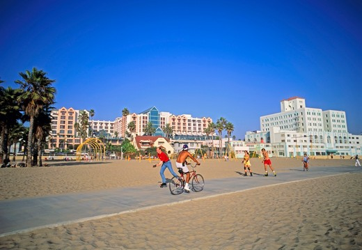 Venice Beach, Los Angeles, Usa : Stock Photo