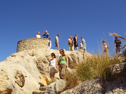 Stock Photo: 1840-6648 Cap De Formentor, View Point