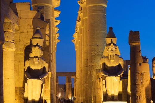 Stock Photo: 1840-6958 Luxor Temple