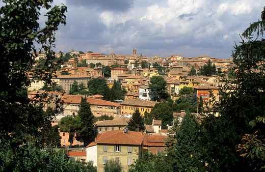 Perugia View Of The City : Stock Photo