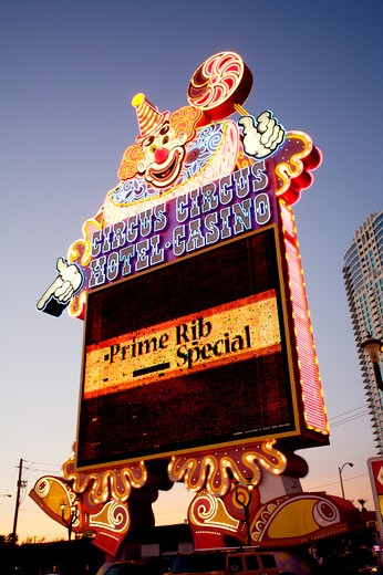 Stock Photo: 1840-7734 Circus Circus Hotel Casino, The Strip