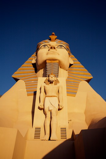 Stock Photo: 1840-7820 Luxor Hotel Las Vegas