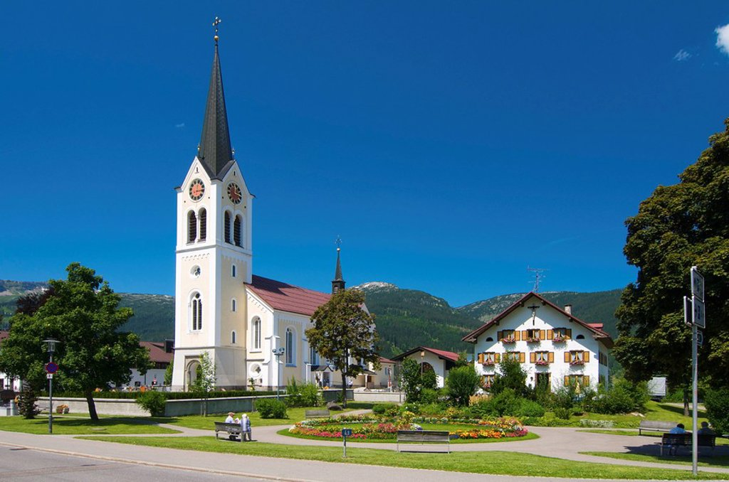 Stock Photo: 1841-100504 Riezlern, Vorarlberg, Austria, Europe