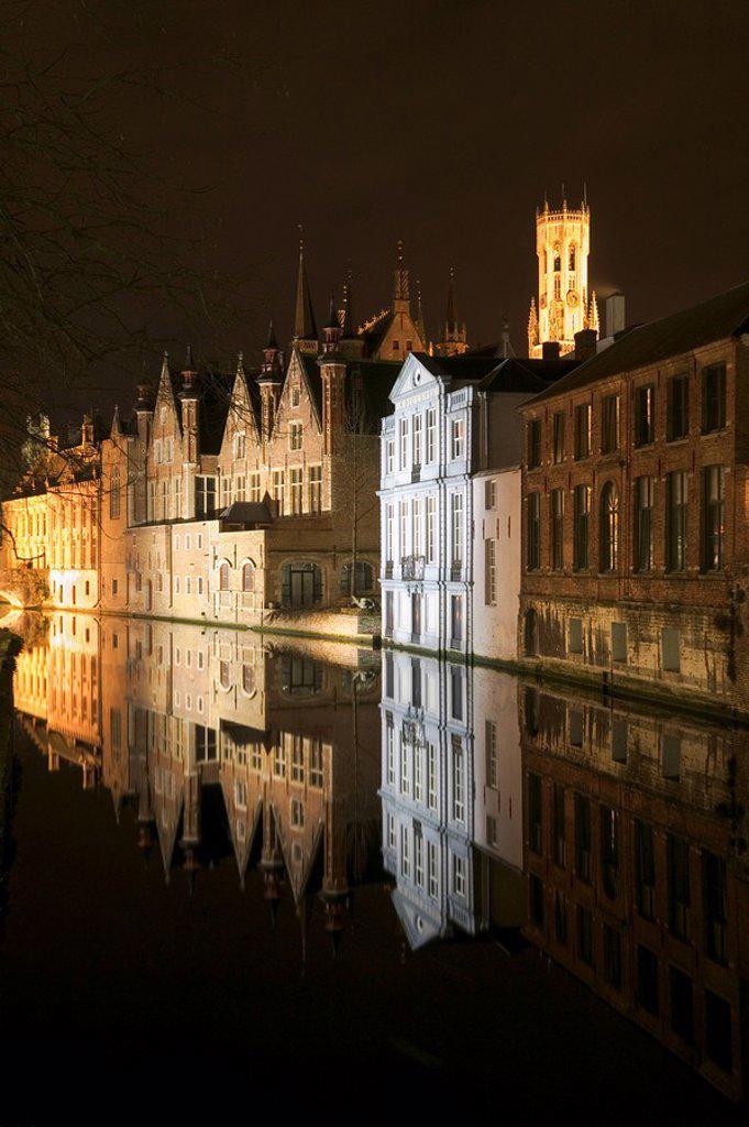 Stock Photo: 1841-11113 patrician houses, Brugge, Belgium