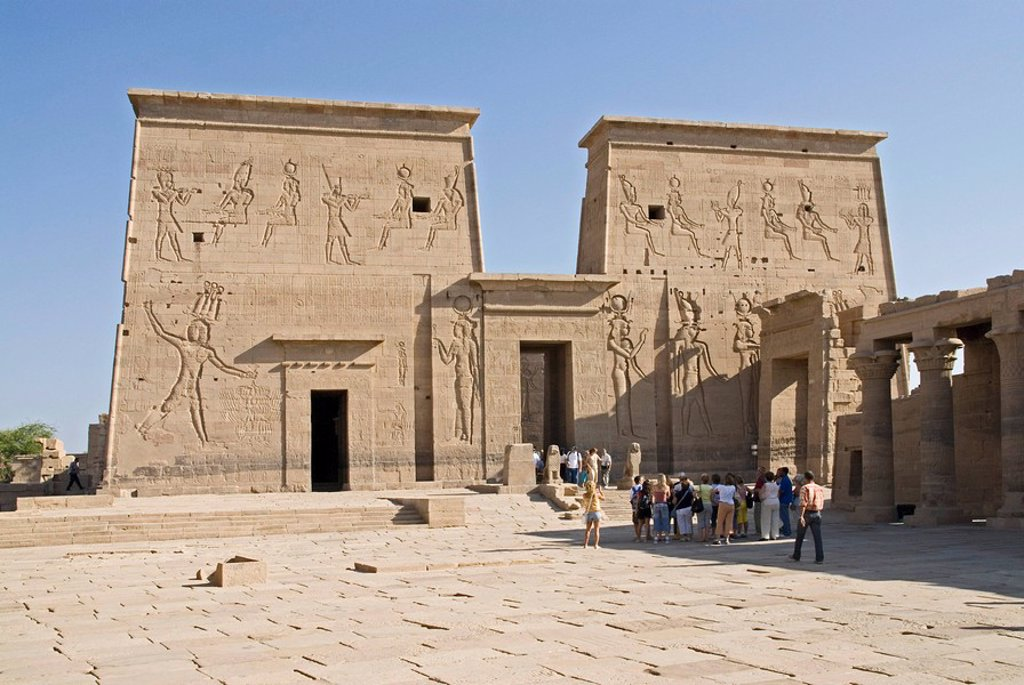 Temple of Philae, Egypt : Stock Photo