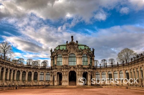 Stock Photo: 1841-118046 Zwinger in Dresden, Germany