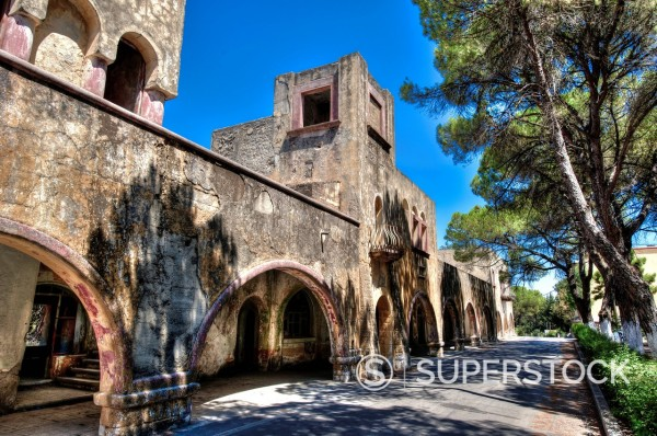 ruine on Rhodos, Greece : Stock Photo