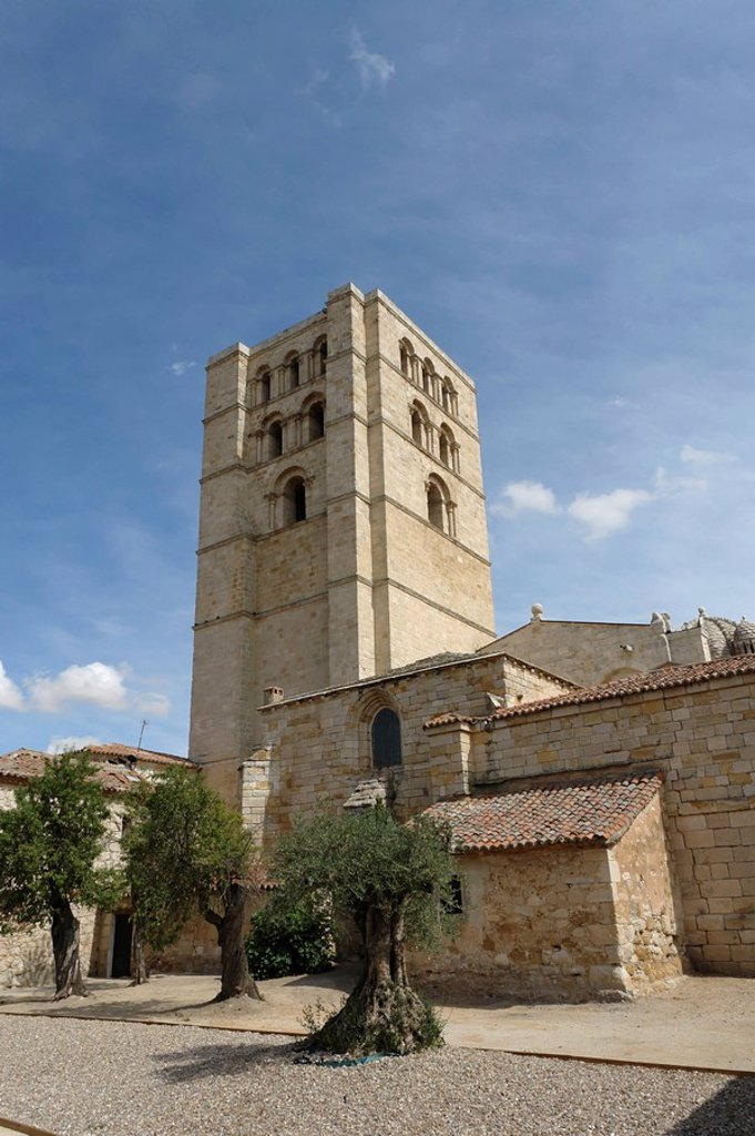 Stock Photo: 1841-15460 San Salvador cathedral, Zamora, Spain
