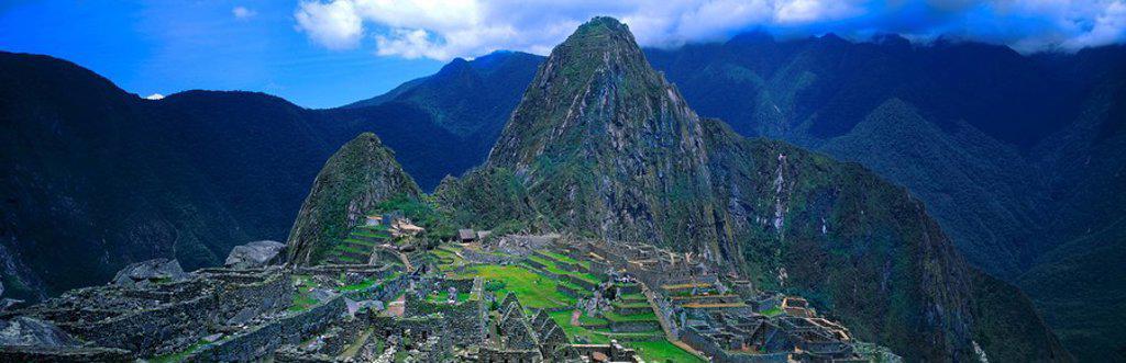 Stock Photo: 1841-21921 Machu Picchu, Peru