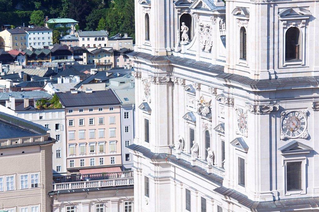 Salzburg Cathedral, Salzburg, Austria : Stock Photo