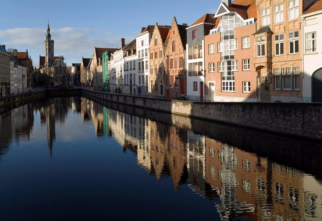 Stock Photo: 1841-2535 patrician houses, Brugge, Belgium