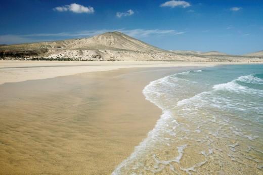Stock Photo: 1841-26981 Playa de Satovento de Jandia, Fuerteventura, Spain