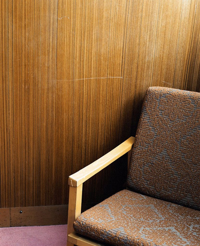 Stock Photo: 1841-29993 High angle view of empty chair