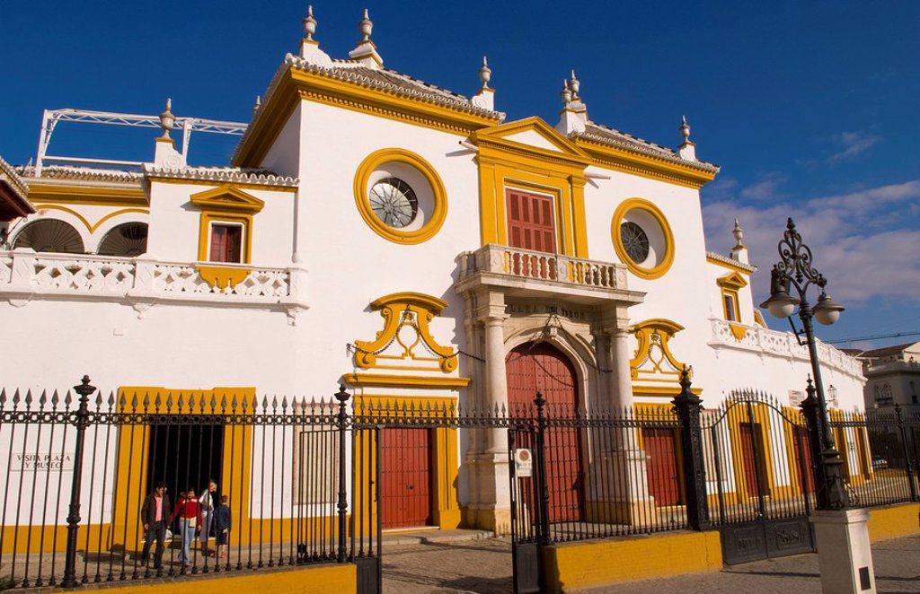 Stock Photo: 1841-30055 La Maestranza, Sevilla, Spain