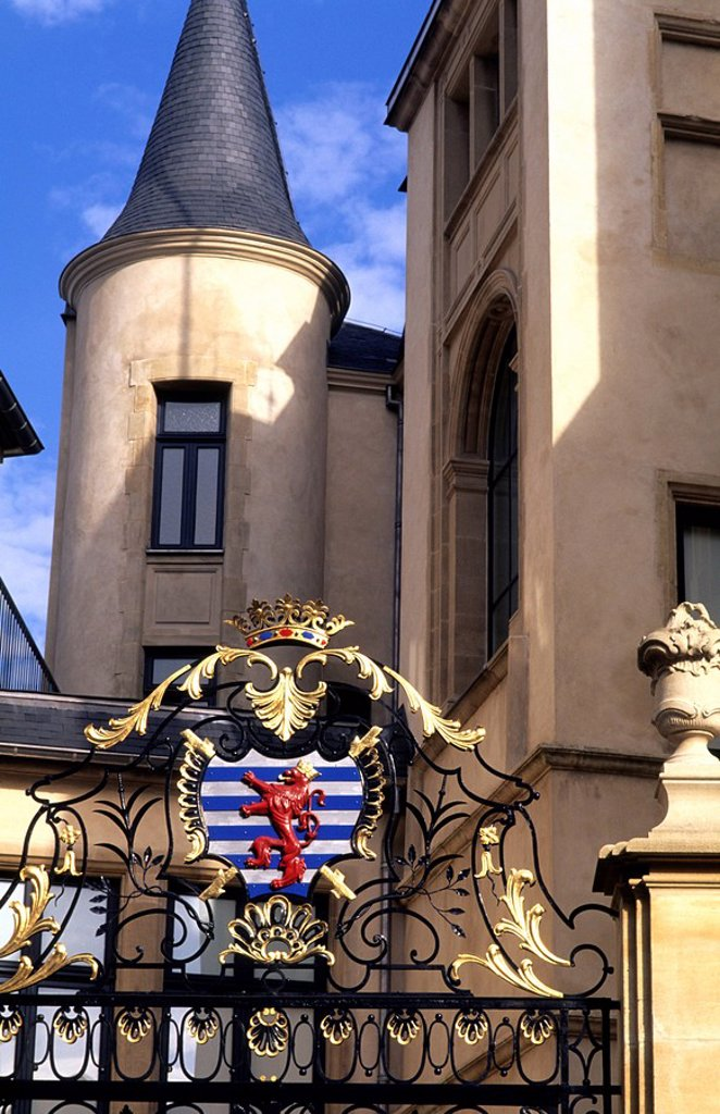 Grand Ducal Palace, Luxembourg : Stock Photo