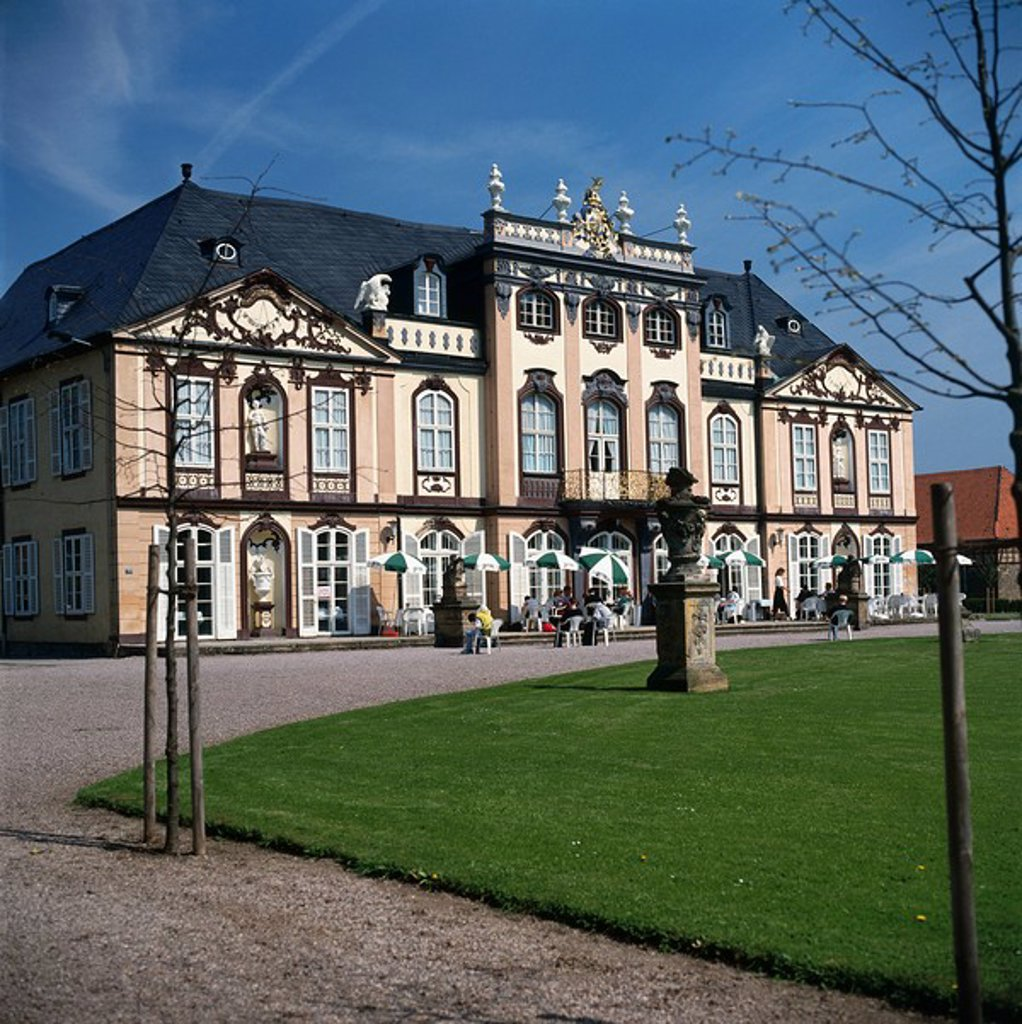 Stock Photo: 1841-32265 Facade of building, Saxony, Germany