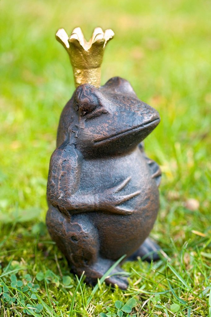 Stock Photo: 1841-34801 Close_up of figurine of frog prince
