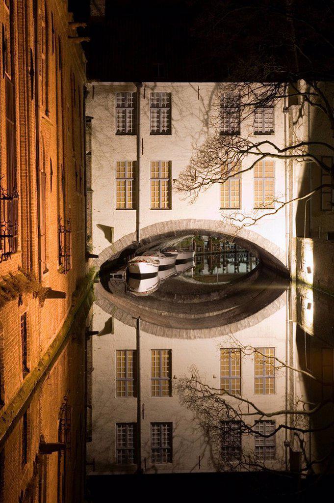 Groothuse Museum, Brugge, Belgium : Stock Photo