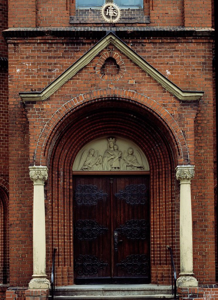 Stock Photo: 1841-38377 Facade of church