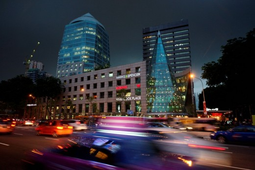 Orchard Road, Singapore, Asia : Stock Photo